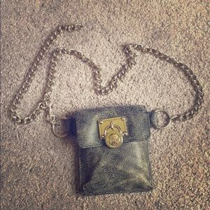 MK chain belt bag-small